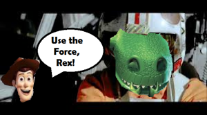 use the force, rex