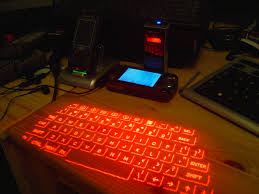 I present you... The Laser Keyboard Thingy!